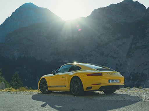 Senza filtri. La nuova 911 Carrera T.