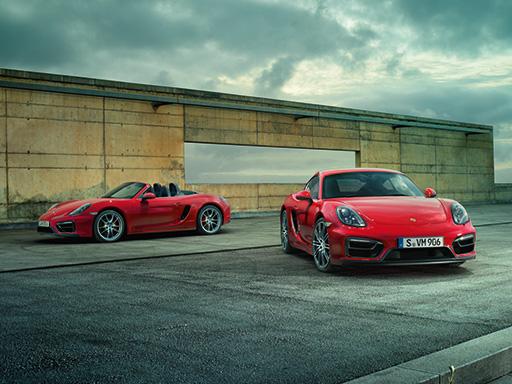 La nuova Boxster e Cayman GTS. Purista.